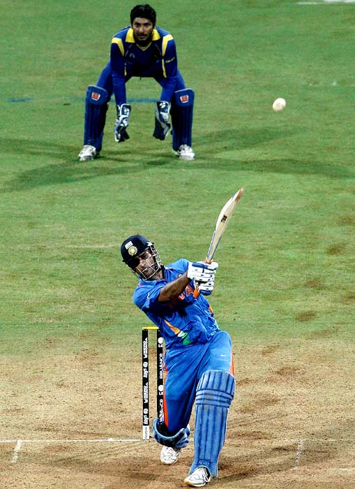 When Dhoni's six won India the World Cup!