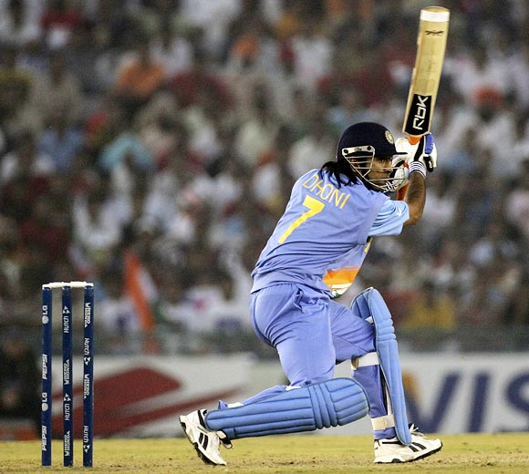 The turning point in Dhoni's career
