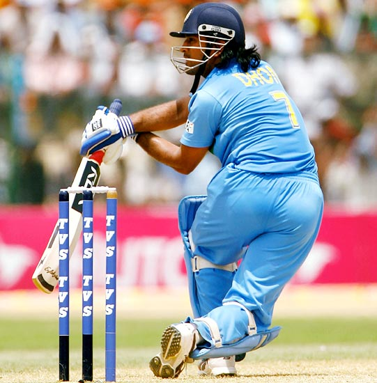 When Yuvraj played second fiddle to Dhoni