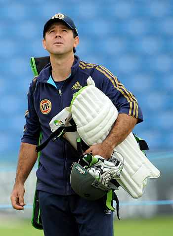 Looking after the team for a couple of days: Ponting