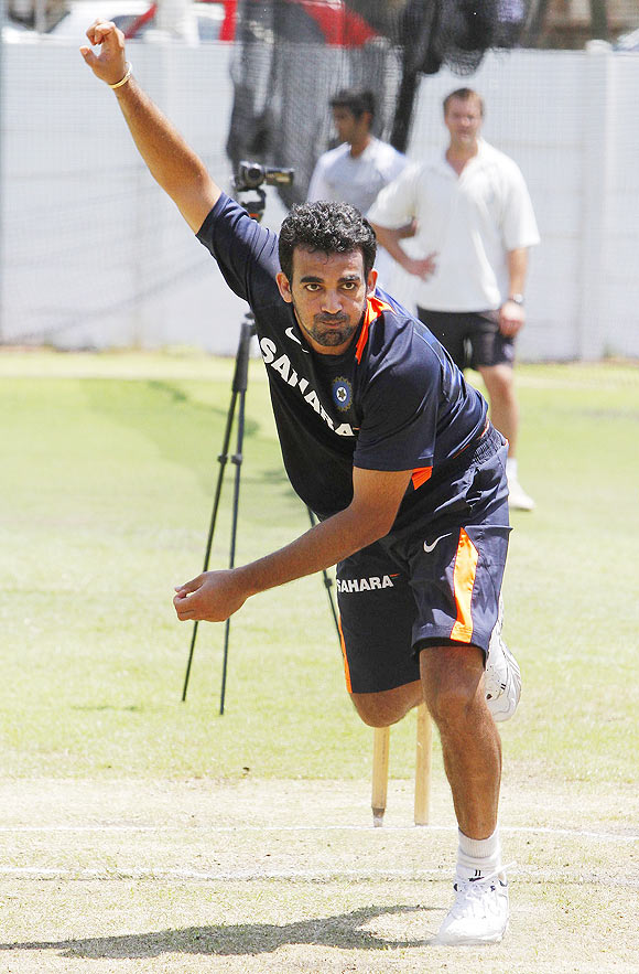 'Zaheer was there and helped me a lot'
