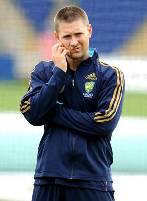 'It's totally Michael Clarke's team and Ricky is very aware of that'