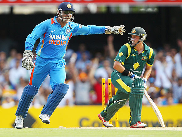 Dhoni,a second time offender