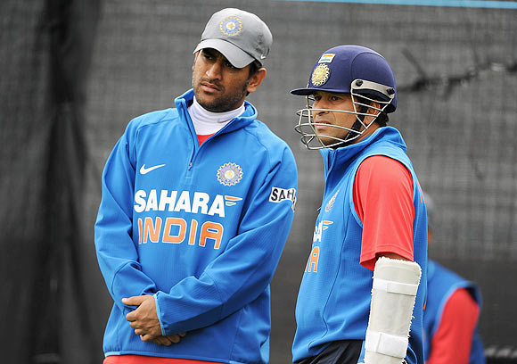 Top three not playing all games because they are slow: Dhoni