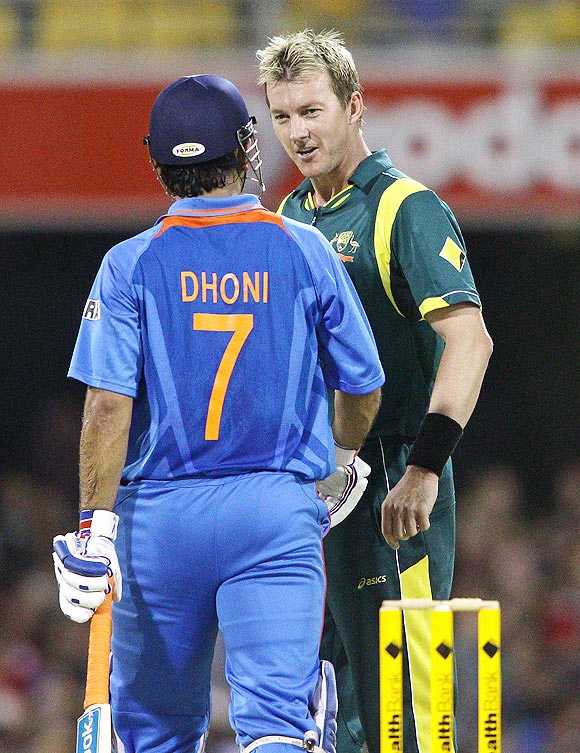 Dhoni refuses to reveal the exchanges with Lee