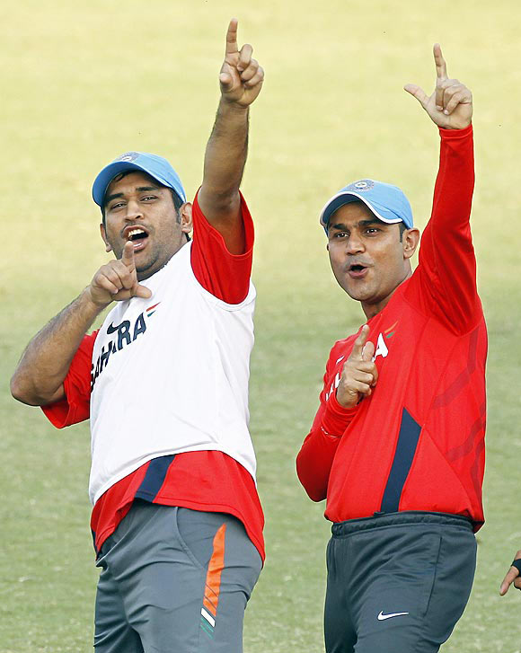 Sehwag denies rift in the team