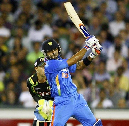 Kohli tops among Indians at No. 3