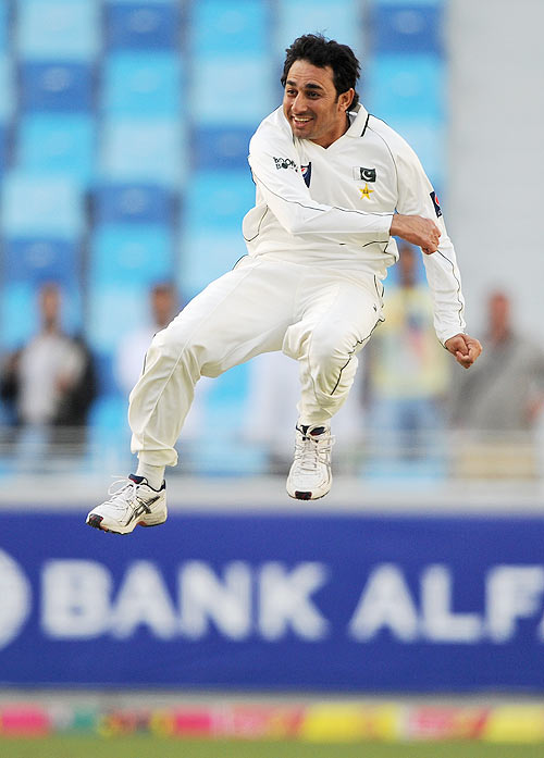 Ajmal leads the bowlers' table