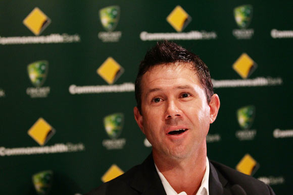 Ricky Ponting announces his intention to continue playing cricket during a press conference at Sydney Cricket Ground