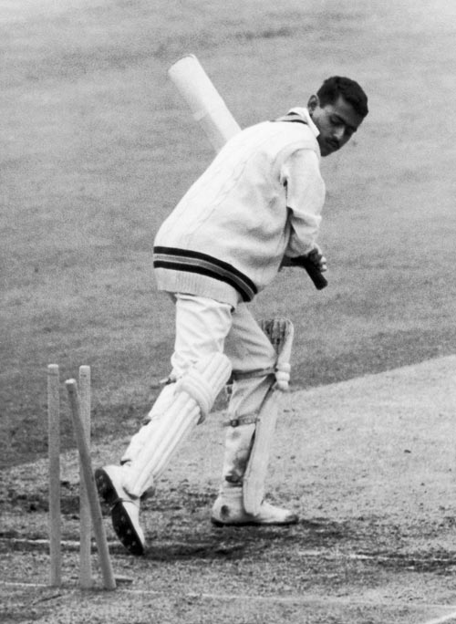 Indian cricketer Bhagwat Chandrasekhar, May 1967