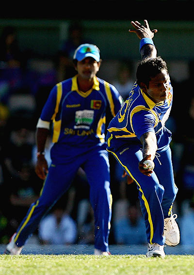Excellent fielding by the Lankans