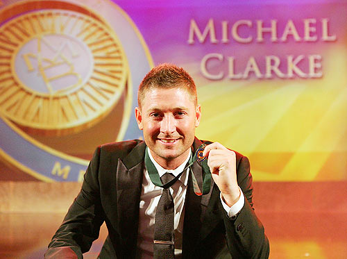 PHOTOS: Clarke named Australia's player of the year