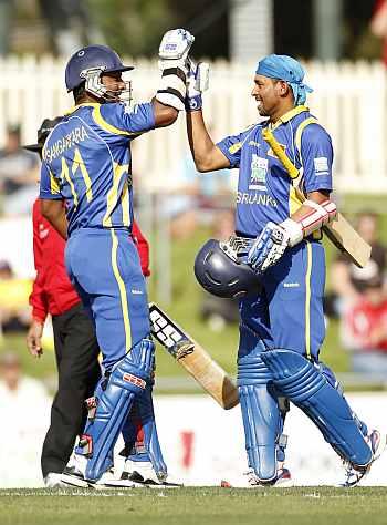 Sangakkara and Dilshan