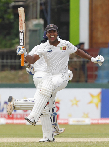 Sangakkara has an aggregate of 2,000 runs