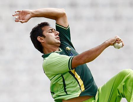 Ajmal bags 50 Test wickets
