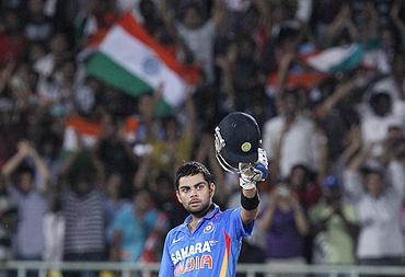 Kohli tops the ODI runs chart