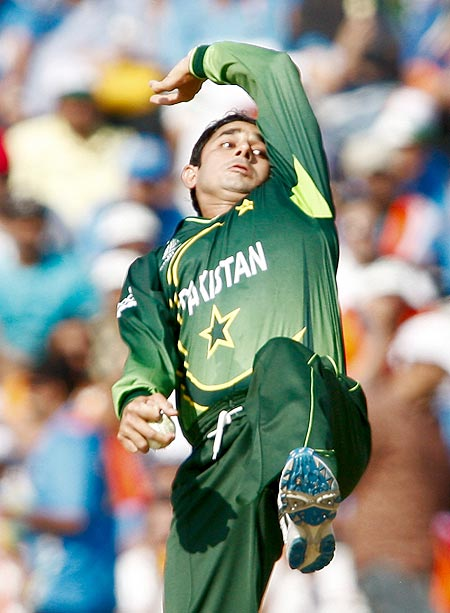 Pakistan's Ajmal walked away with best economy rate