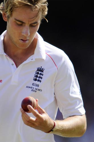 Broad achieved rare feat of Test hat-trick