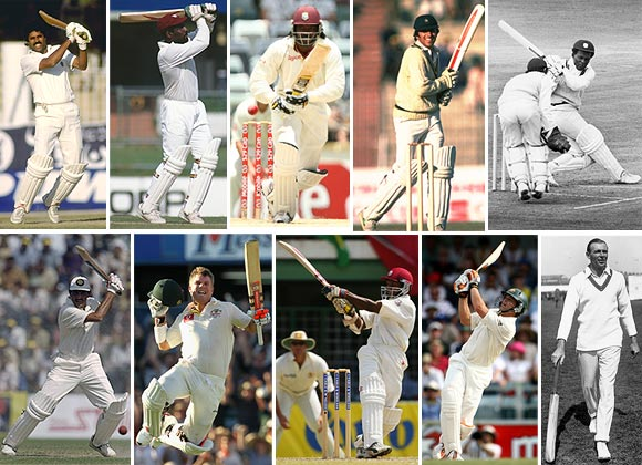Photos: Ten fastest Test tons after Warner's blazing knock
