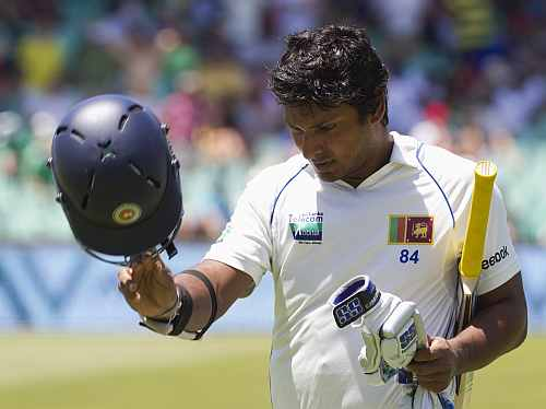 Kumar Sangakkara, the Sri Lankan star