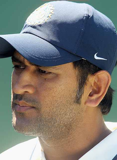 Mahendra Singh Dhoni, the Indian captain