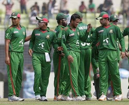 The Bangladesh cricket team
