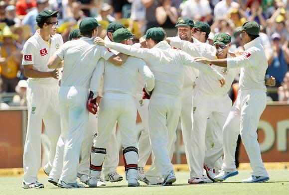 The Australian cricket team