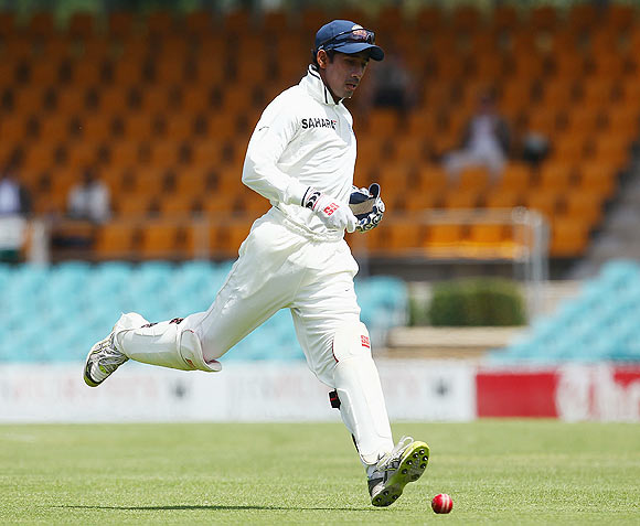 It's certain now, Saha in for Dhoni