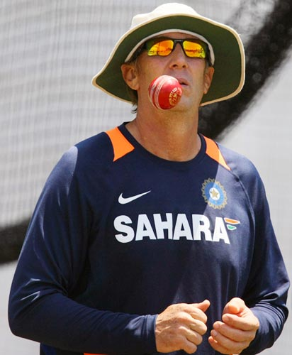 India Bowling Coach Eric Simons