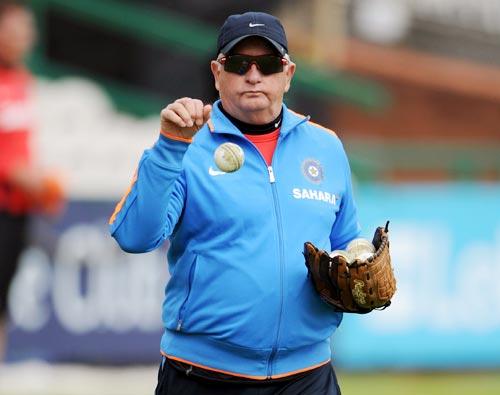 India Coach Duncan Fletcher