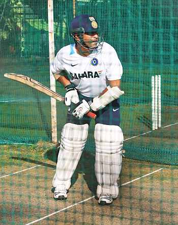 Tendulkar hasn't paced his innings in one gear