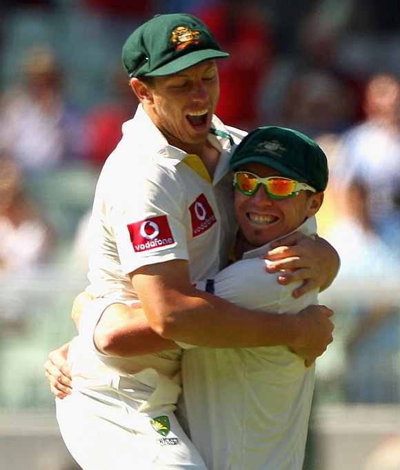 James Pattinson and Peter Siddle