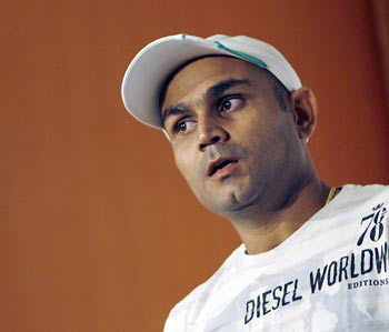 Aussie bowlers playing with our patience: Sehwag