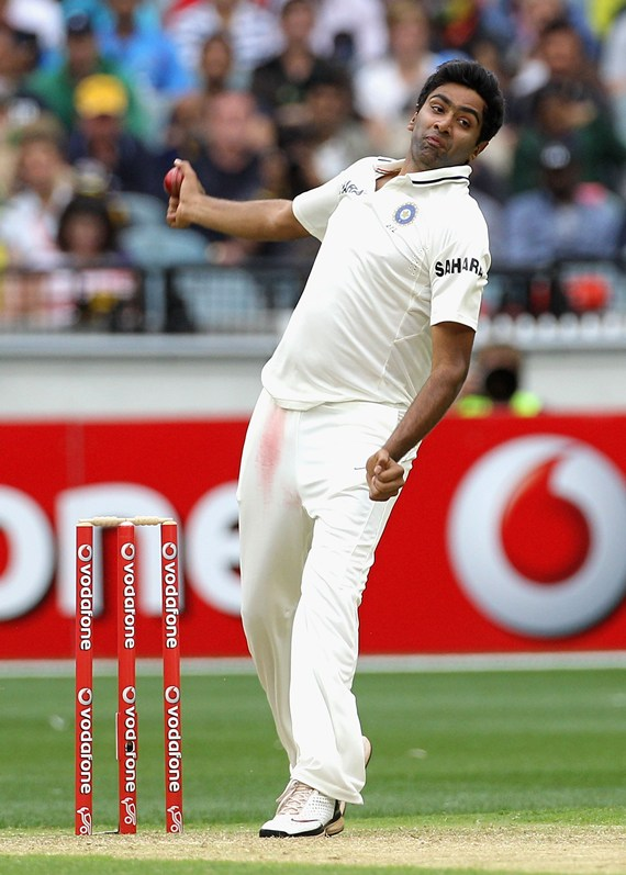 India's off-spinner Ravichandran Ashwin. Mohammad Kaif feels India's spinners don't perform well overseas.