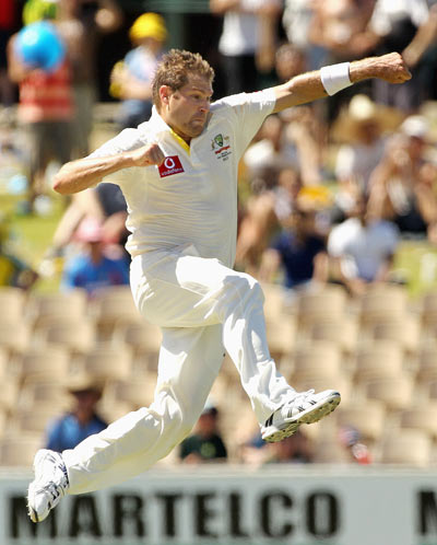 Dravid's dismissal gave Harris his second wicket