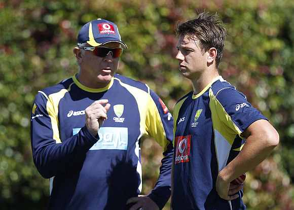 Ganguly all praise for McDermott's role in training Oz pacers