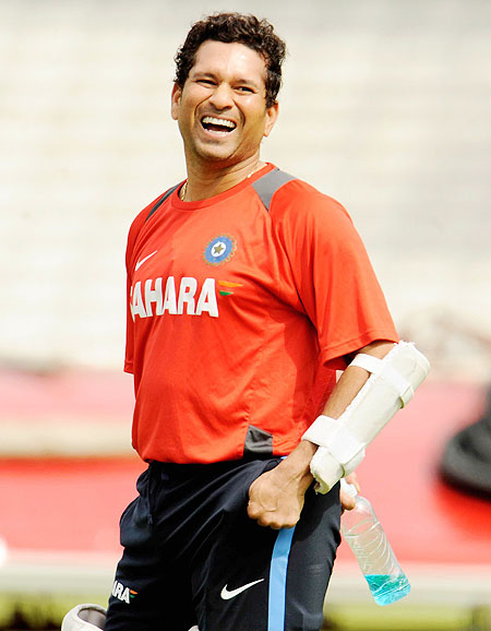 'If Sachin's record is not broken, human race will fall behind'