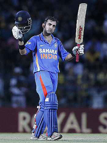 Gambhir has been in good touch