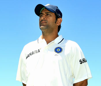 Dhoni's record as captain away from home is poor