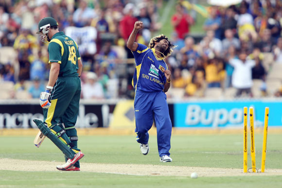 Malinga was the pick of Sri Lanka bowlers