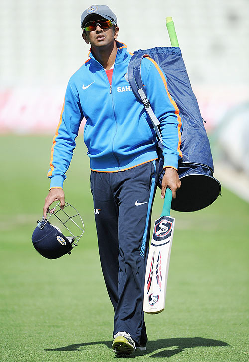 Dravid's captaincy did not affect his performance with the bat