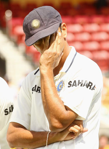 When a teammate's flamboyance overshadowed Dravid's class