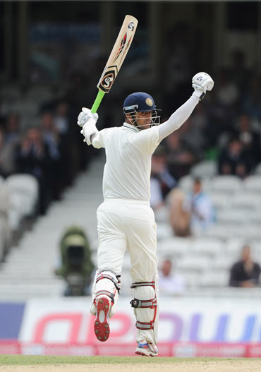 Ganguly's 131 eclipsed Dravid's 95