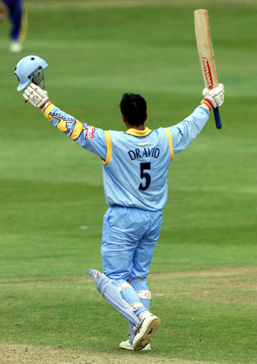 It was Ganguly again who stole his thunder