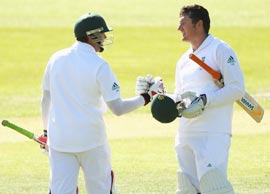 Graeme Smith (right) and Jacques Kallis