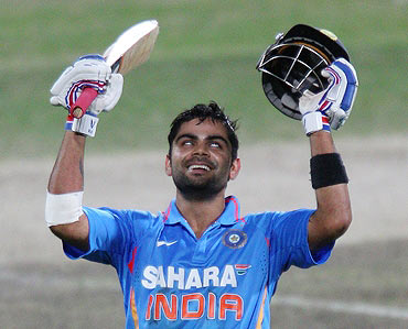 Is Kohli ready to step into Dravid's shoes?
