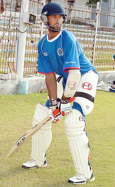 Pujara is also known for his solid techniques