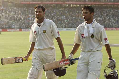 Rahul Dravid and VVS Laxman