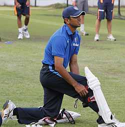 Dravid, first recipient of the ICC Test and Cricketer of the Year award