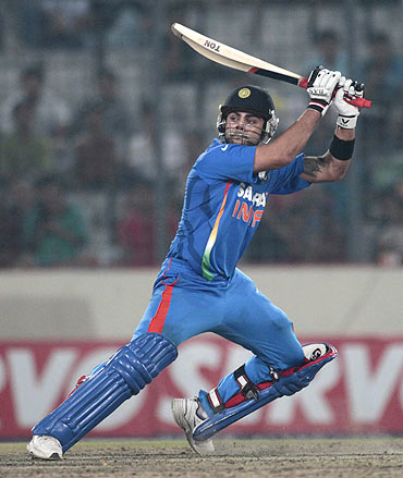 Kohli ideal player to replace Dravid at No 3: Ganguly